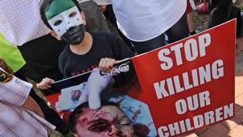 Stop killing Syrian children