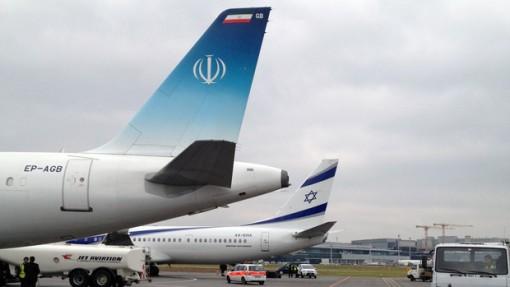 Davos Flughafen - Iran, Israel