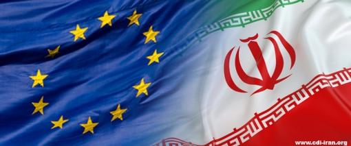 Iran EU flag