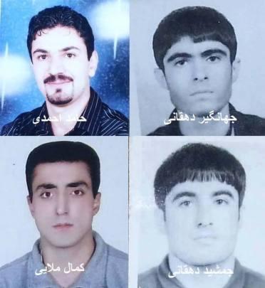 Todesstrafe 4 sunnitische prisoner